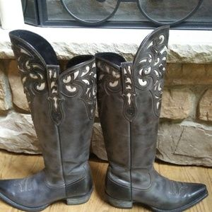 Ariat boots over knee size 9B